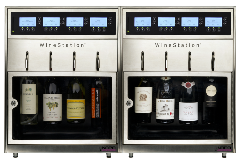 WineStation 3.0 - WineStation 3.0 is the most effective intelligent wine preservation and dispensing technology found in the marketplace today