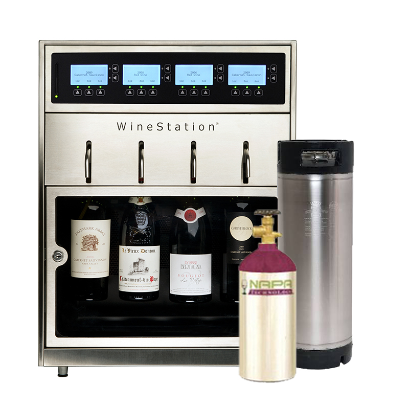 Keg Dispensing Systems - WineStation - NapaTechnology.com