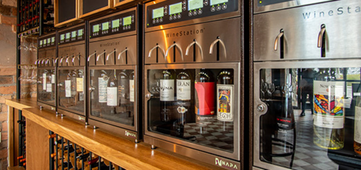 Napa Technology Self-Service Wine Bar